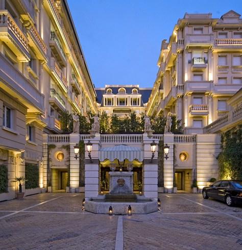 ホテル・メトロポール・モンテカルロ Hotel Metropole Monte-Carloの外観
