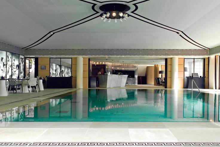 ホテル・メトロポール・モンテカルロ Hotel Metropole Monte-Carloのプール