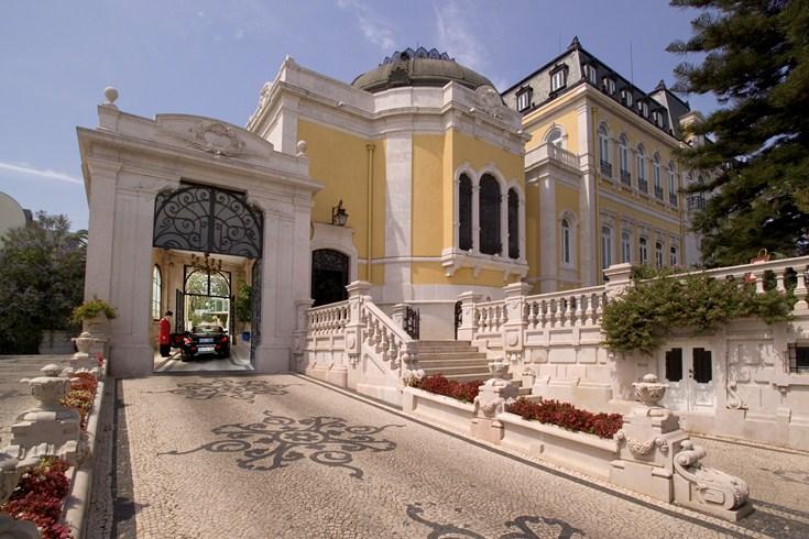 ペスターナ・パレス・ホテル&ナショナル・モニュメント Pestana Palace Hotel & National Monumentのエントランス