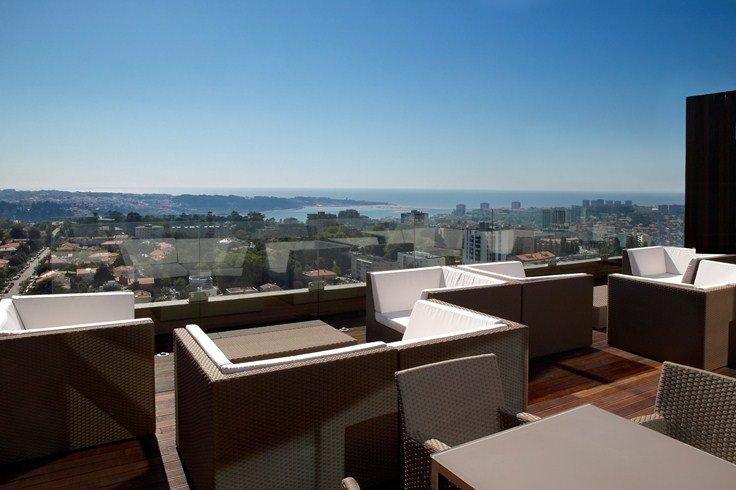 ポルト・パラシオ・コングレス・ホテル&スパ Porto Palacio Congress Hotel & Spaのラウンジ