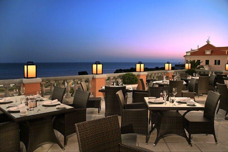 グランデ・レアル・ヴィラ・ホテル・アンド・スパ Grande Real Villa Italia Hotel & Spaのレストラン