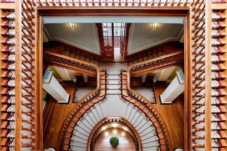 ヴィダゴ・パレス Vidago Palaceの階段