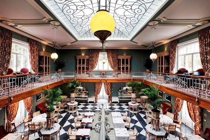 ヴィダゴ・パレス Vidago Palaceのレストラン