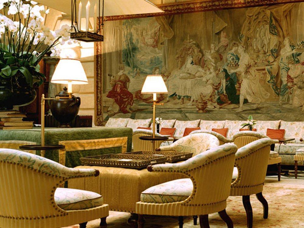 ホテル・メトロポール・モンテカルロ Hotel Metropole Monte-Carloのロビー