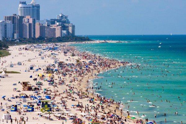 常夏のリゾート地マイアミ「サウス・ビーチ」エリアおすすめの楽しみ方