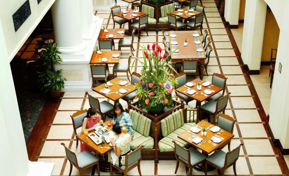 インターコンチネンタル・シンガポール InterContinental Singaporeのオリーブ・ツリー・レストラン