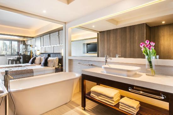 パン・パシフィック・シンガポール Pan Pacific Singaporeの客室バスルーム