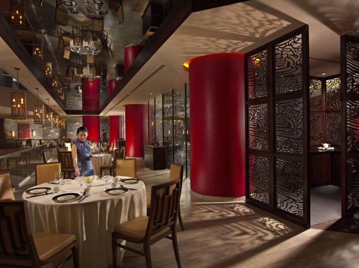パン・パシフィック・シンガポール Pan Pacific Singaporeのレストラン・ハイティエンロー