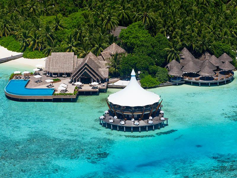 バロス・モルディブ Baros Maldivesのレストラン