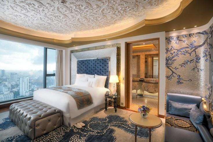 ザ・レヴェリー・サイゴン The Reverie Saigonの客室