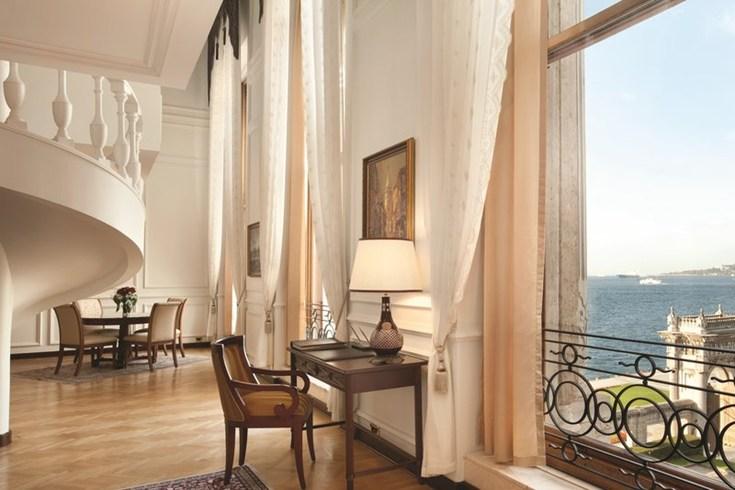 チュラーン・パレス・ケンピンスキー・イスタンブール Ciragan Palace Kempinski Istanbulの客室