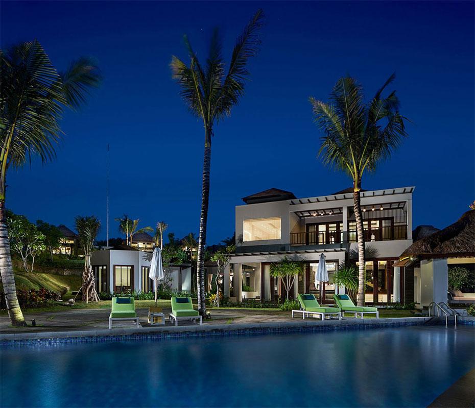 サマベ・バリ・スイート&ヴィラ Samabe Bali Suites & Villasの客室外観