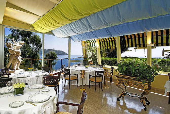 グランド・ホテル・デル・マーレ・リゾート & スパ Grand Hotel del Mare Resort & Spaのレストラン