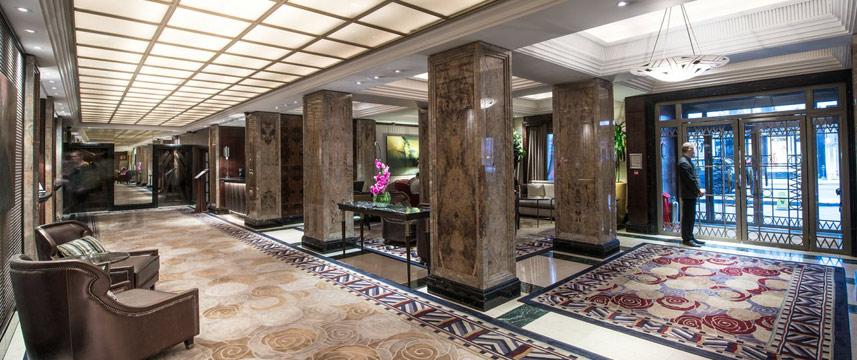 ウエストベリー・メイフェア・ホテルのロビー