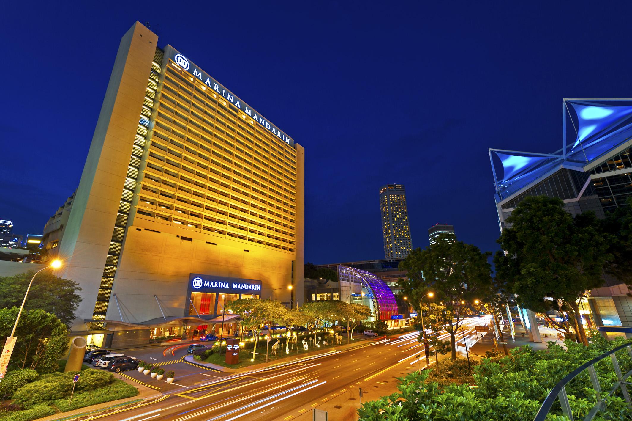 マリーナ・マンダリン・シンガポール Marina Mandarin Singapore概要