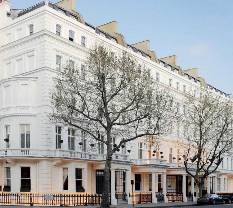 19世紀ヨーロッパの古典的な内装が魅力の「ザ・ケンジントン・ホテル」