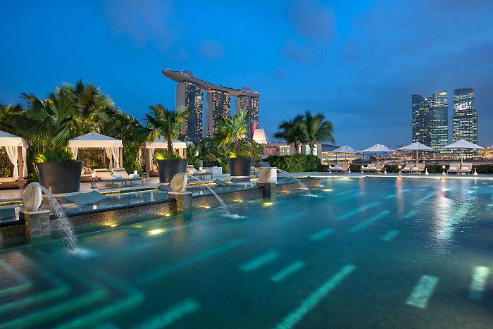 シンガポールでも屈指のラグジュアリーホテル「マンダリン・オリエンタル・シンガポール」