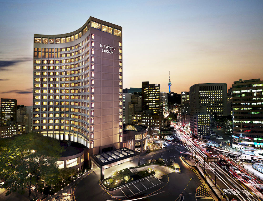 ウェスティン・チョースン・ホテル The Westin Chosun Seoulの外観
