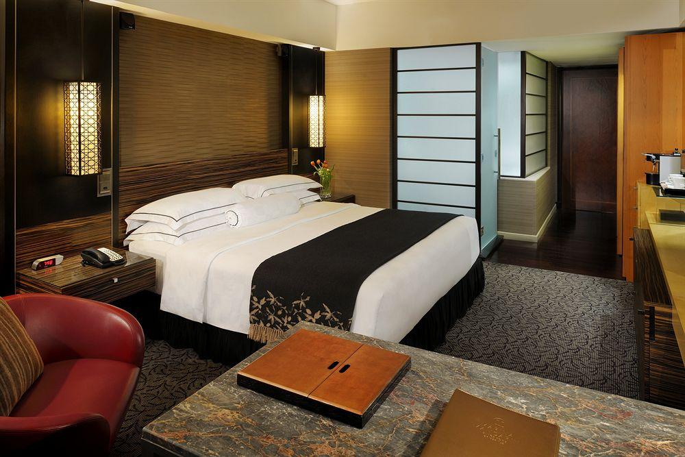 マリーナ・マンダリン・シンガポール Marina Mandarin Singaporeの客室:オリエンタルスタイル