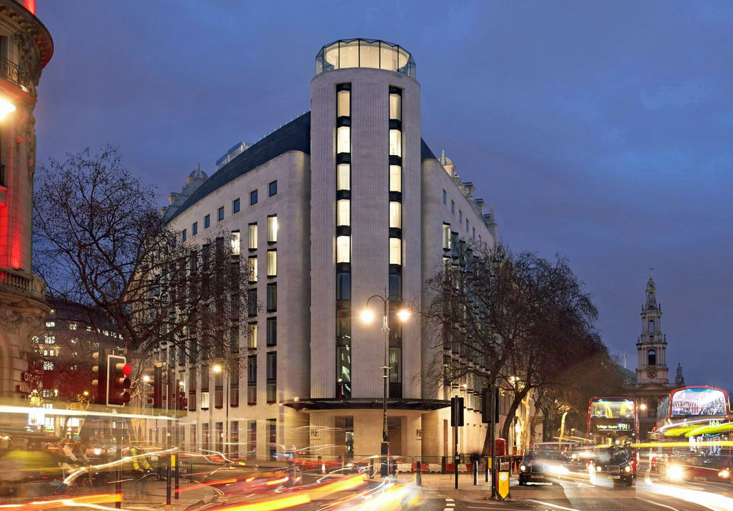 ミーロンドンホテルの外観