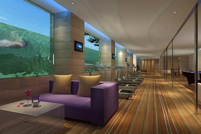 ホテル・ニッコー・広州 Hotel Nikko Guangzhou 広州日航酒店のフィットネス