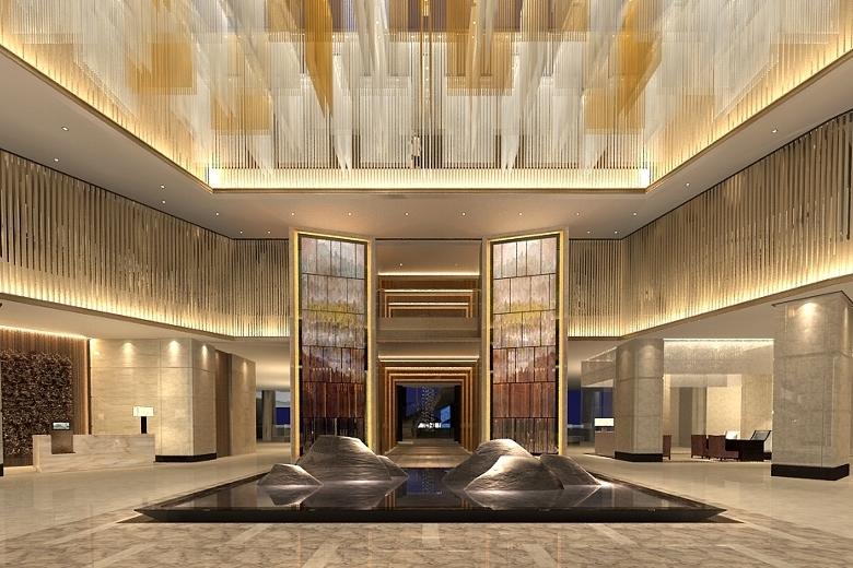 ホテル・ニッコー・広州 Hotel Nikko Guangzhou 広州日航酒店のロビー