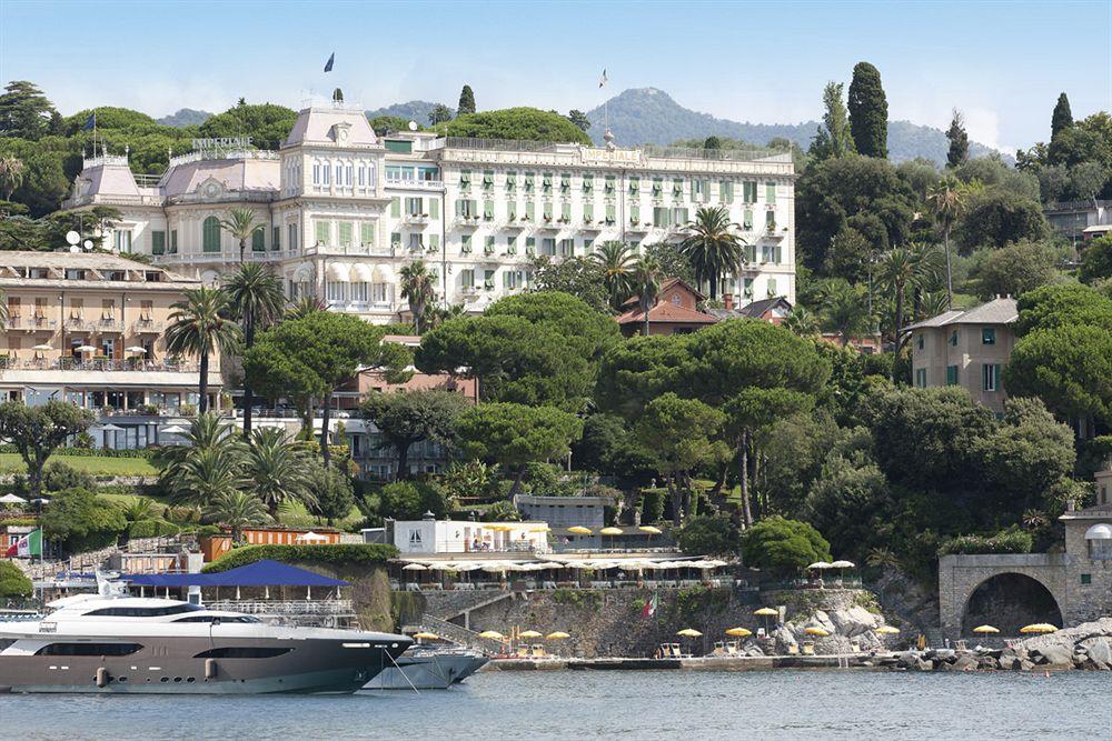 ポルトフィーノの湾岸に建つ歴史と伝統のある「インペリアル・パレス・ホテル」