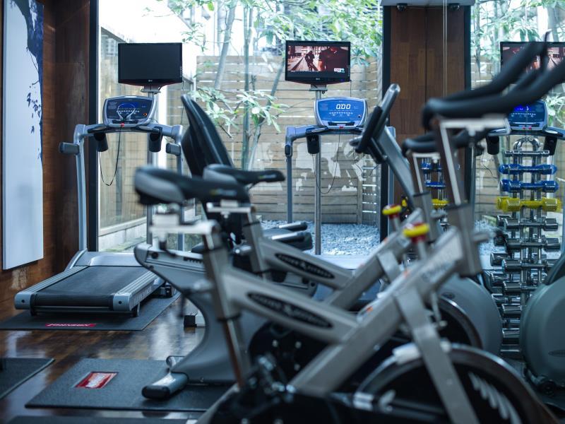レ・スイーツ・台北・チンチェン Les Suites Ching Cheng Hotelのフィットネス施設