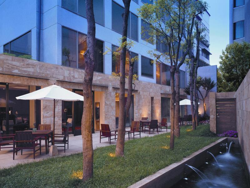 レ・スイーツ・台北・チンチェン Les Suites Ching Cheng Hotelのテラス