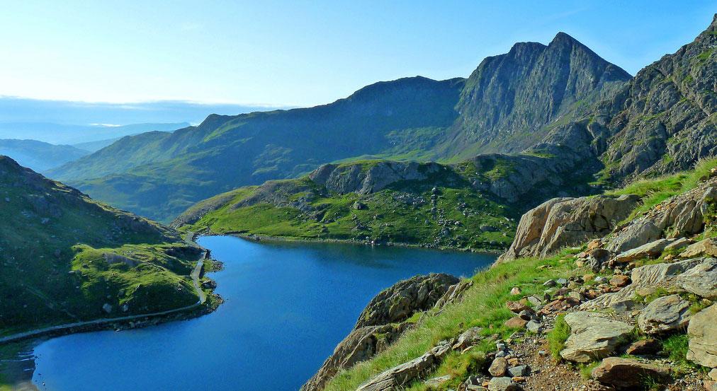 スノードニア国立公園の景色