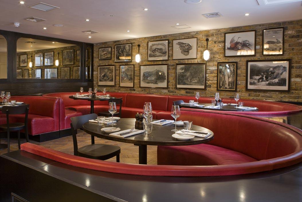 ザ・モントカーム・アット・ブルワリー・ロンドンシティのレストランバー