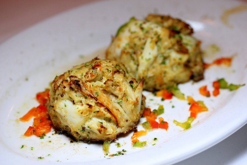 マリーナ・マンダリン・シンガポール Marina Mandarin Singaporeのルース・クリス・ステーキハウスの料理1