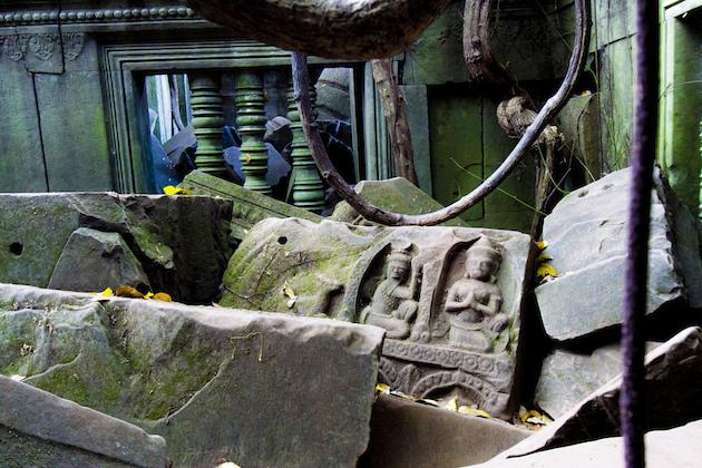 ベンメリアの彫刻