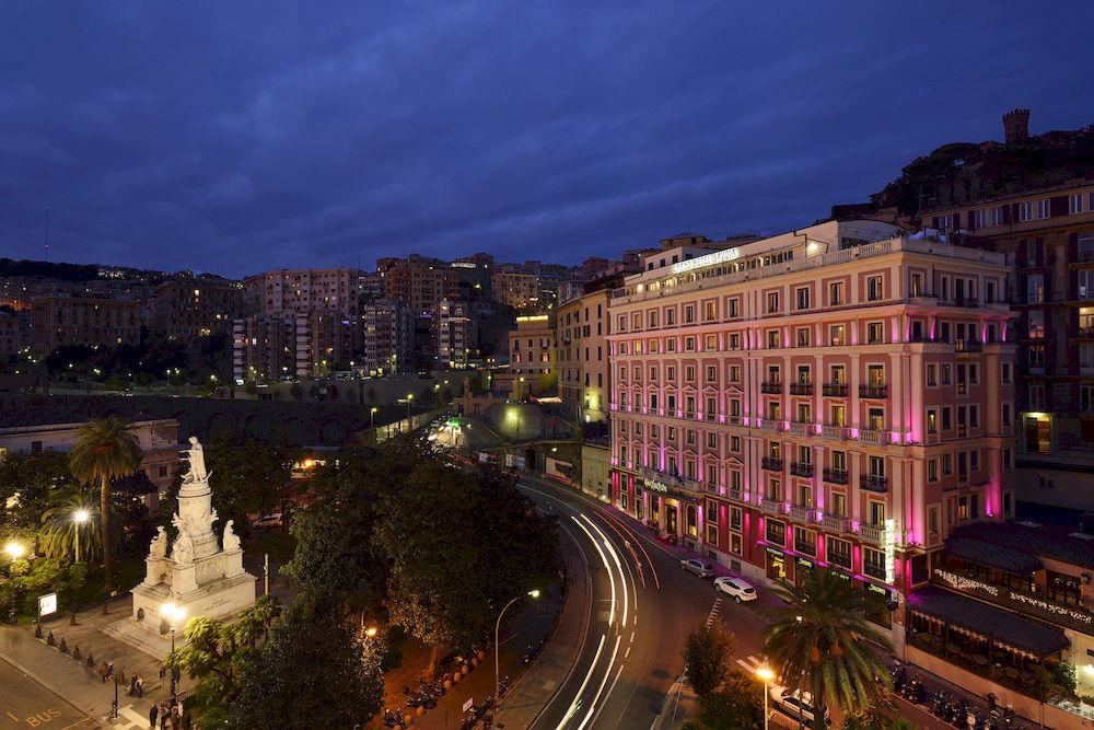 伝統と格式、そして歴史を感じるジェノヴァの「グランド・ホテル・サヴォイア」