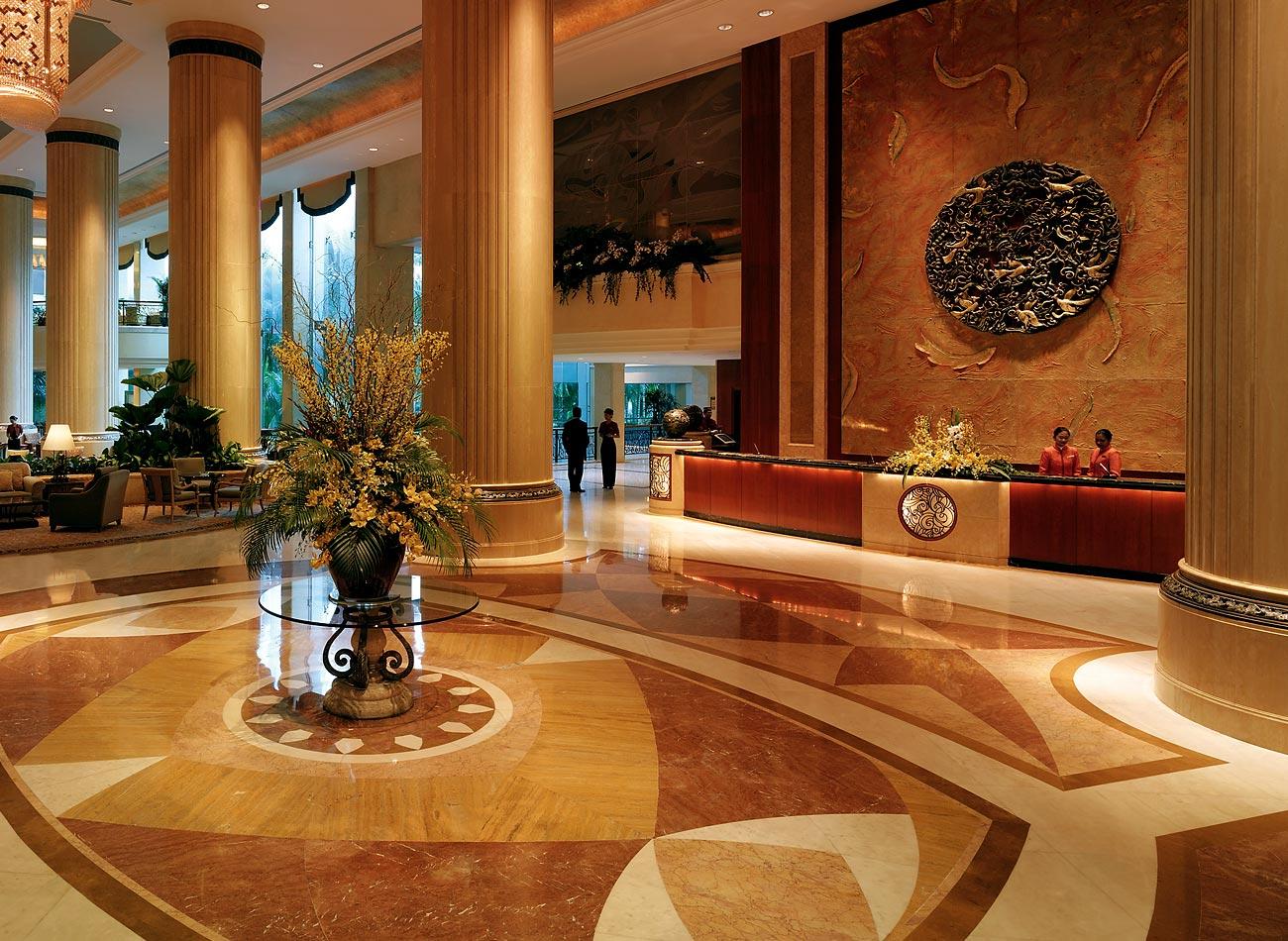 シャングリラ・ホテル・シンガポール Shangri-La Hotel Singaporeのロビー