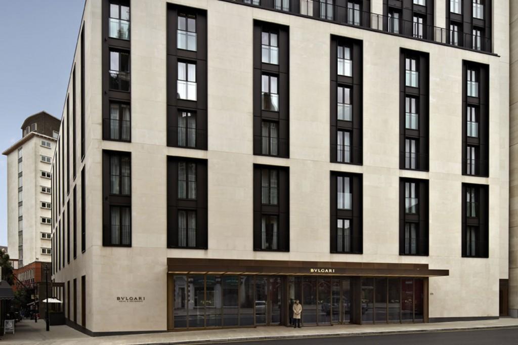 ブルガリ・ホテル・アンド・レジデンシズ・ロンドンの外観