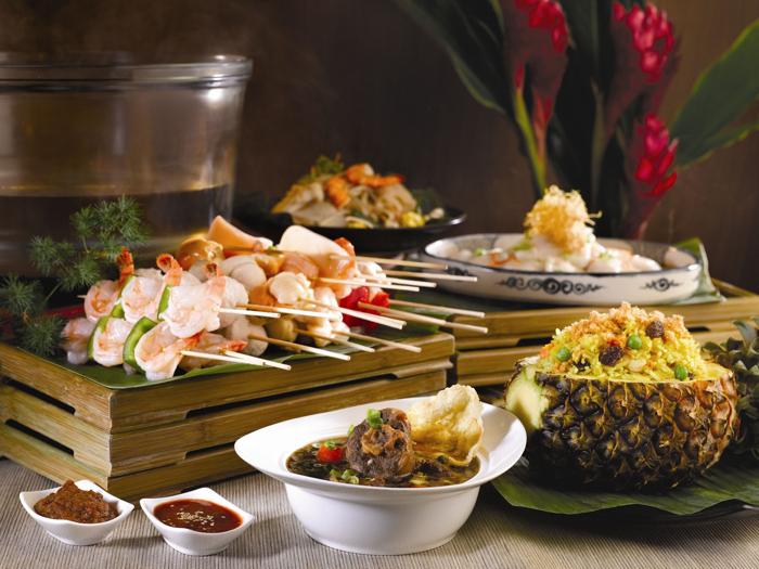 マリーナ・マンダリン・シンガポール Marina Mandarin Singaporeのレストラン:アクアマリンの料理