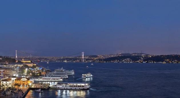 東西の十字路と言われるイスタンブールにふさわしい「シャングリ・ラ・ボスポラス・イスタンブール」