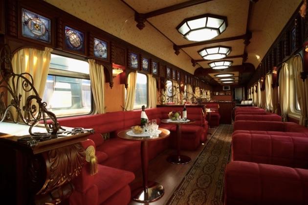 車輪の上の5つ星ホテル「ゴールデン・イーグル号」で行くシベリア鉄道の旅