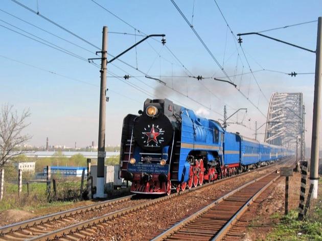 ゴールデン・イーグル号蒸気機関車