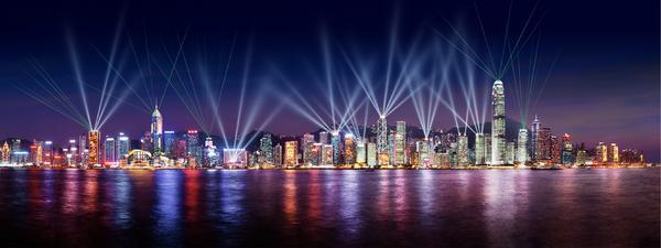香港の「シンフォニー・オブ・ライツ」