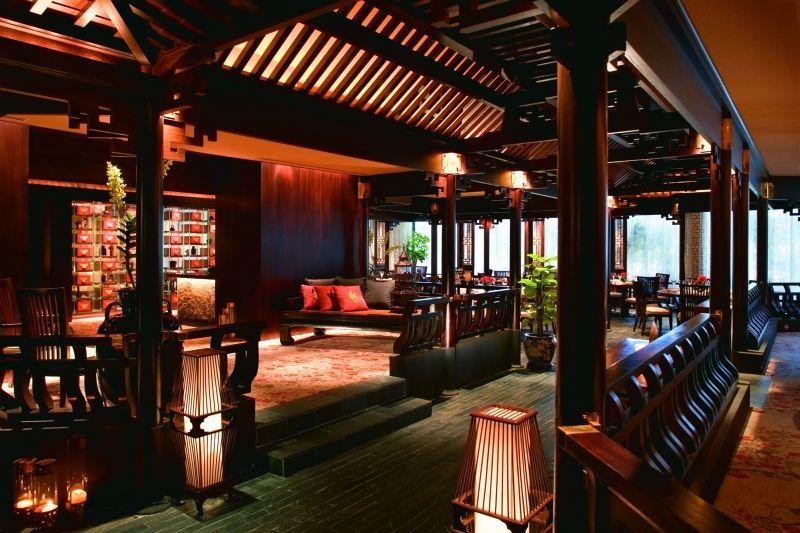 マンダリン・オリエンタル・シンガポール Mandarin Oriental Singaporeのチェリーガーデン