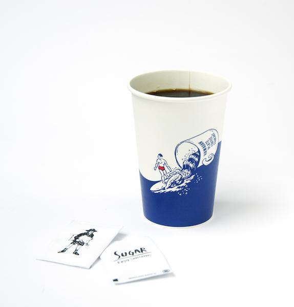 パシフィック・ドライブイン Pacific DRIVE-INのコーヒー