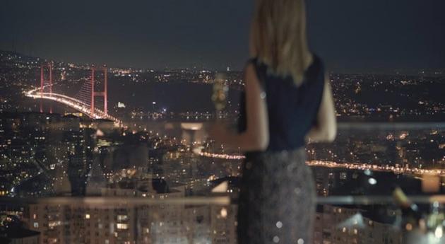 ラッフルズ・イスタンブールの夜景
