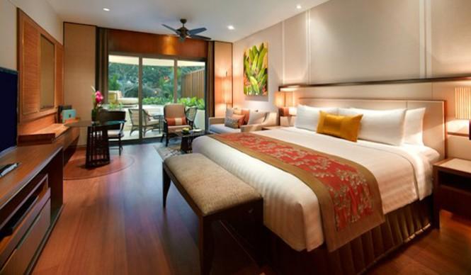 シャングリラ・ホテル・シンガポール Shangri-La Hotel Singaporeのガーデンウィング客室