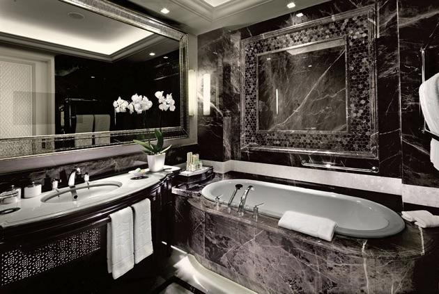 シャングリ・ラ・ボスポラス・イスタンブール のバスルーム