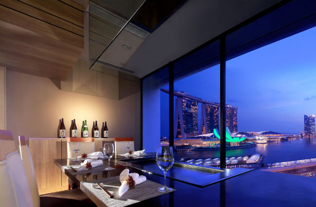 マンダリン・オリエンタル・シンガポール Mandarin Oriental Singaporeのてっぱん屋