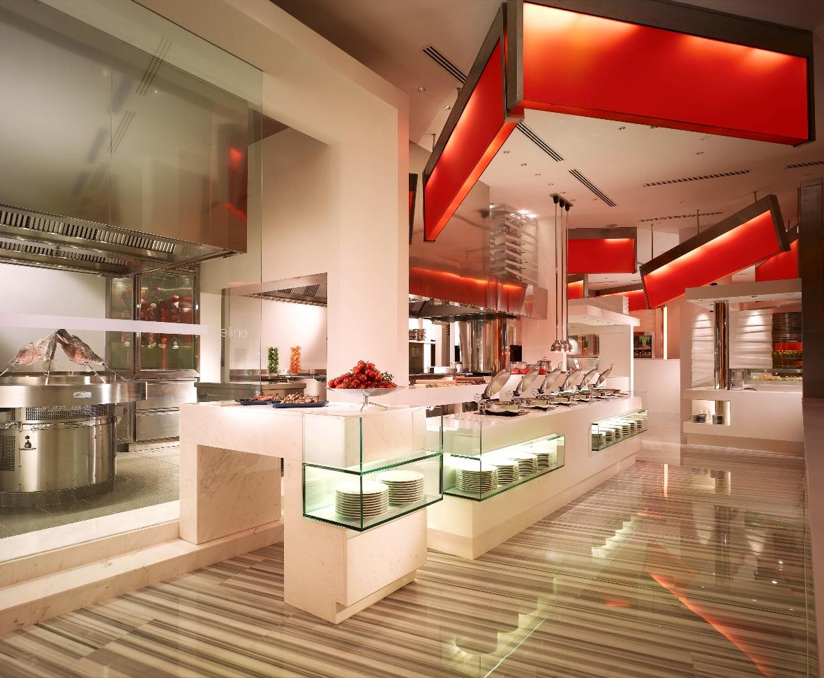 シャングリラ・ホテル・シンガポール Shangri-La Hotel Singaporeのザ・ライン