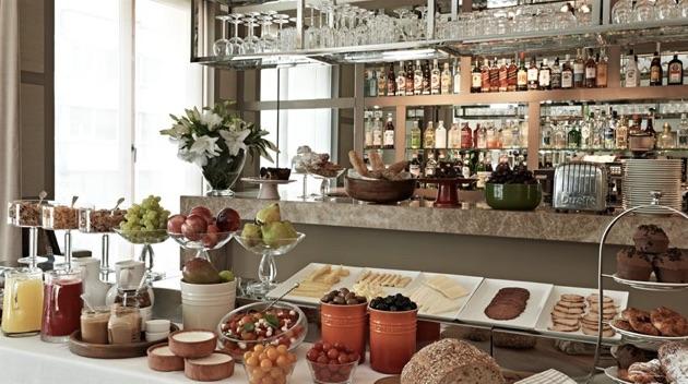 ザ・ハウス・ホテル・ニシャンタシュの朝食