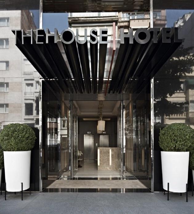 ザ・ハウス・ホテル・ニシャンタシュのエントランス
